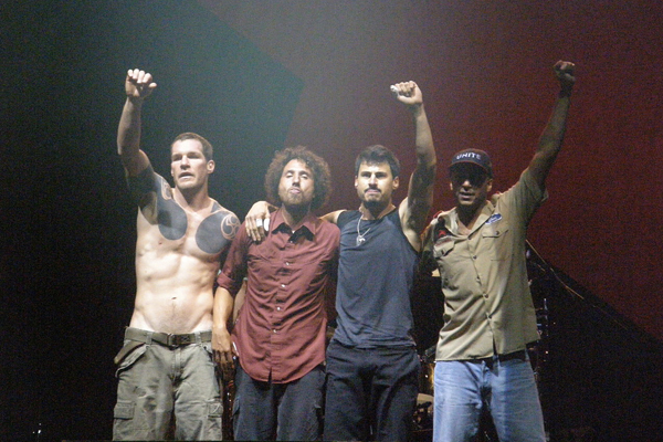 Vidéo : La folie Rage Against The Machine à Bercy en 2008