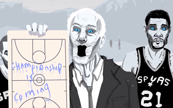 Vidéo : Game of Thrones, NBA Edition (Game of Zones)